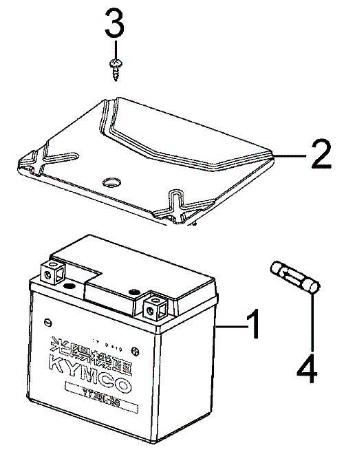 baterie a kryt baterie (F11)