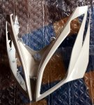 64301-LEA7-E00-HXP Čelní kapotáž bílá