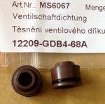 12209-GDB4-68B Těsnění ventilového dříku